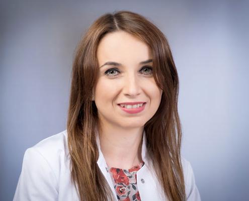 Doctor-medic<br />Andreea Luiza Iftemia